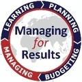 logo for managing for results with text in center and ring of quarter rocker titles including managing, learning, planning and budgeting with managing highlighted [State Department Image] 3/21/2017