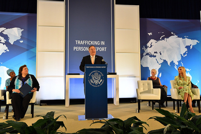 Secretary Pompeo Delivers Remarks on the Release of the 2018 Trafficking in Persons Report