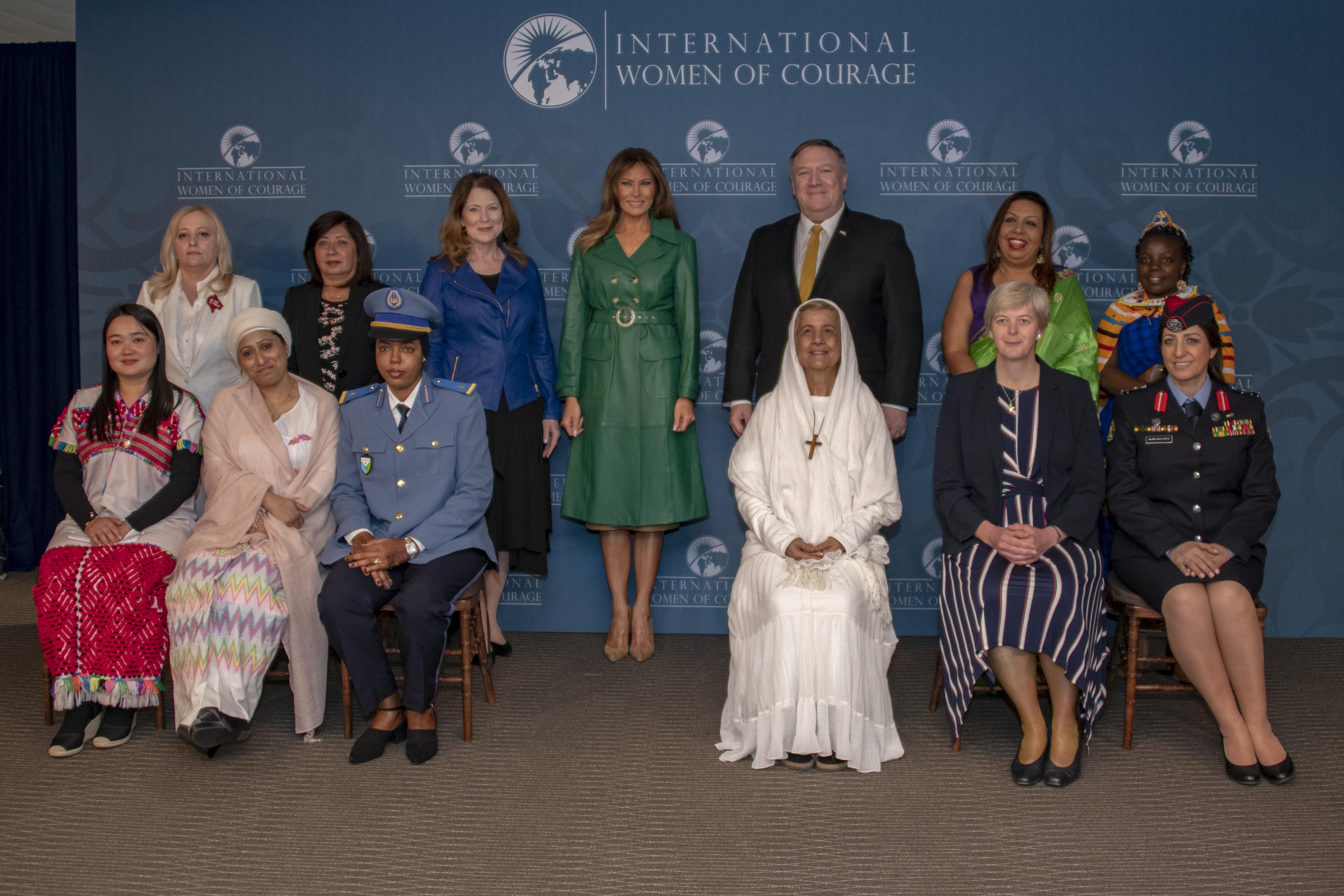 2019 International Women of Courage Awardees