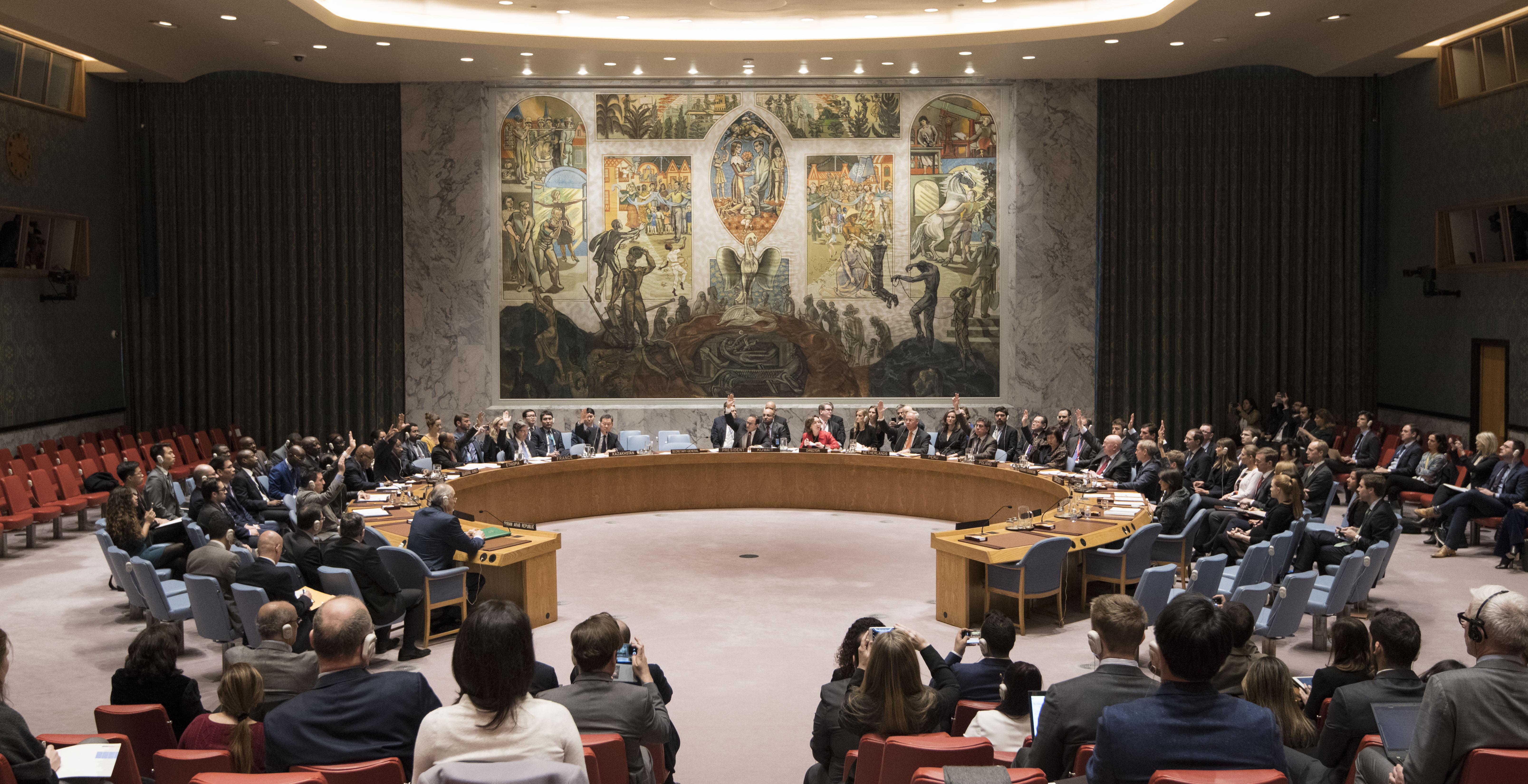 UNSCR Syria (UN Photo/Mark Garten)