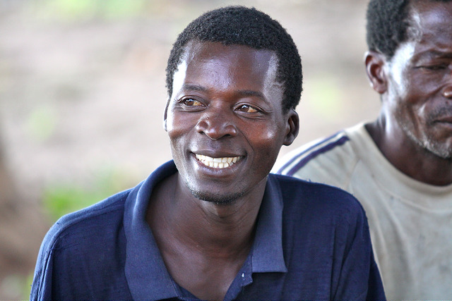 A Man Supported By PEPFAR In Mozambique
