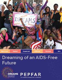 Cover of DREAMING of an AIDS-free future