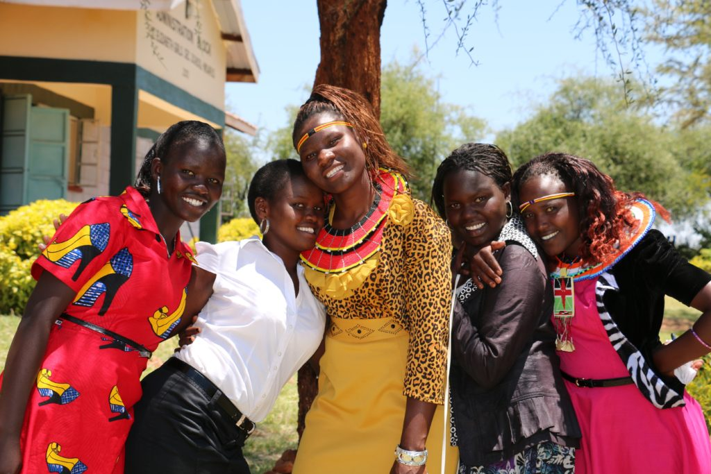PEPFAR Supported Young Women In Kenya