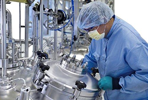 A person in a laboratory setting