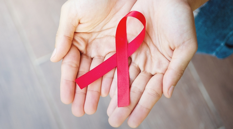 HIV, AIDS Awareness Ribbon.