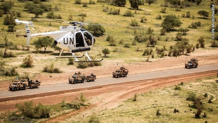 El Salvador contributes military helicopters and a contingent of ninety peacekeepers to peacekeeping efforts of the United Nations Multidimensional Integrated Stabilization Mission in Mali (MINUSMA).