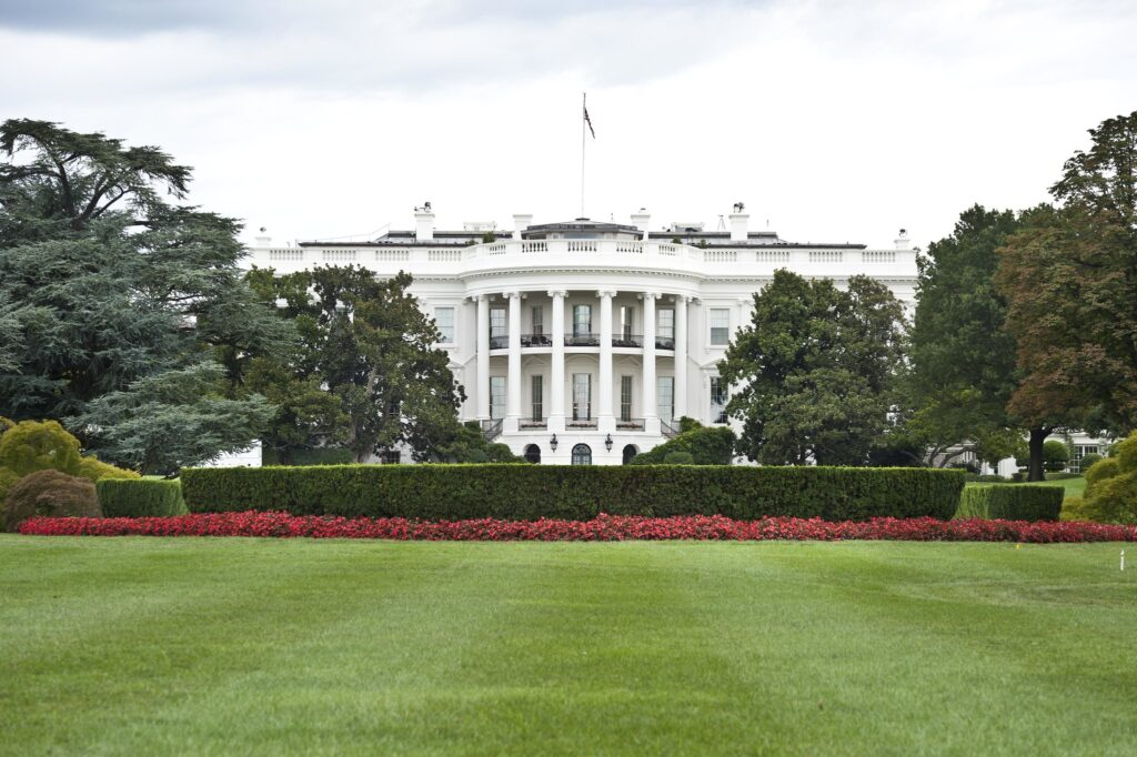 Photo by: U.S. Department of State (IIP Bureau) The South Portico entrance of the White House.