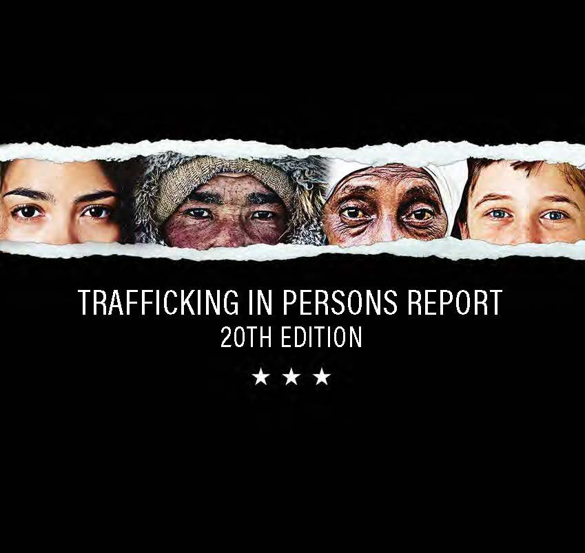 2020 Trafficking in Persons Report Cover