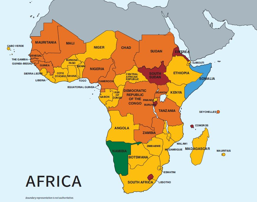 2020 Trafficking in Persons Report: Africa