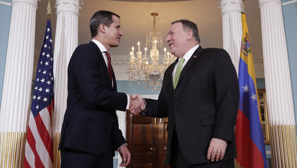 Secretary of State Pompeo with Juan Gaudio