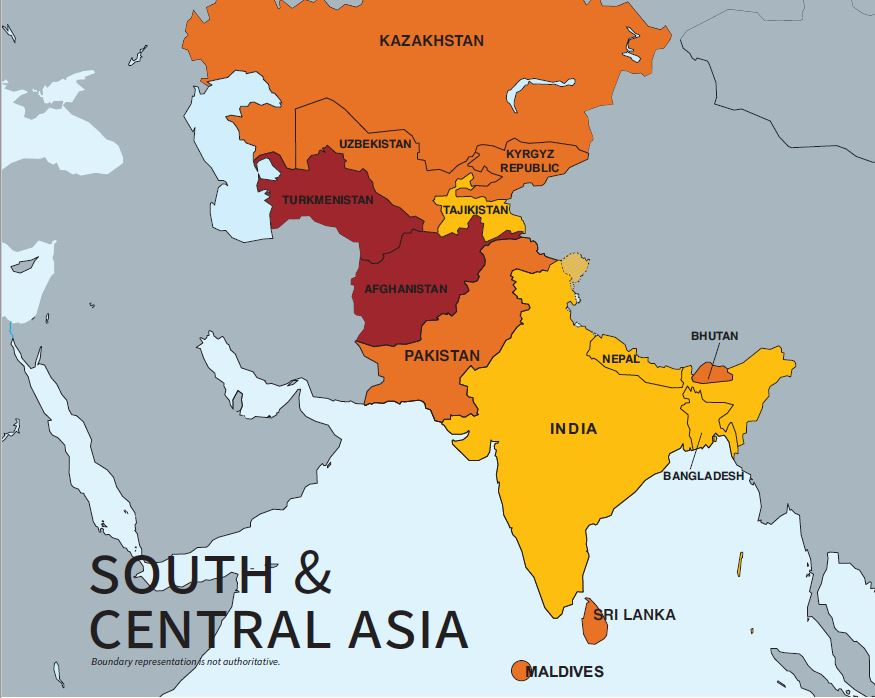 2020 Trafficking in Persons Report: South & Central Asia