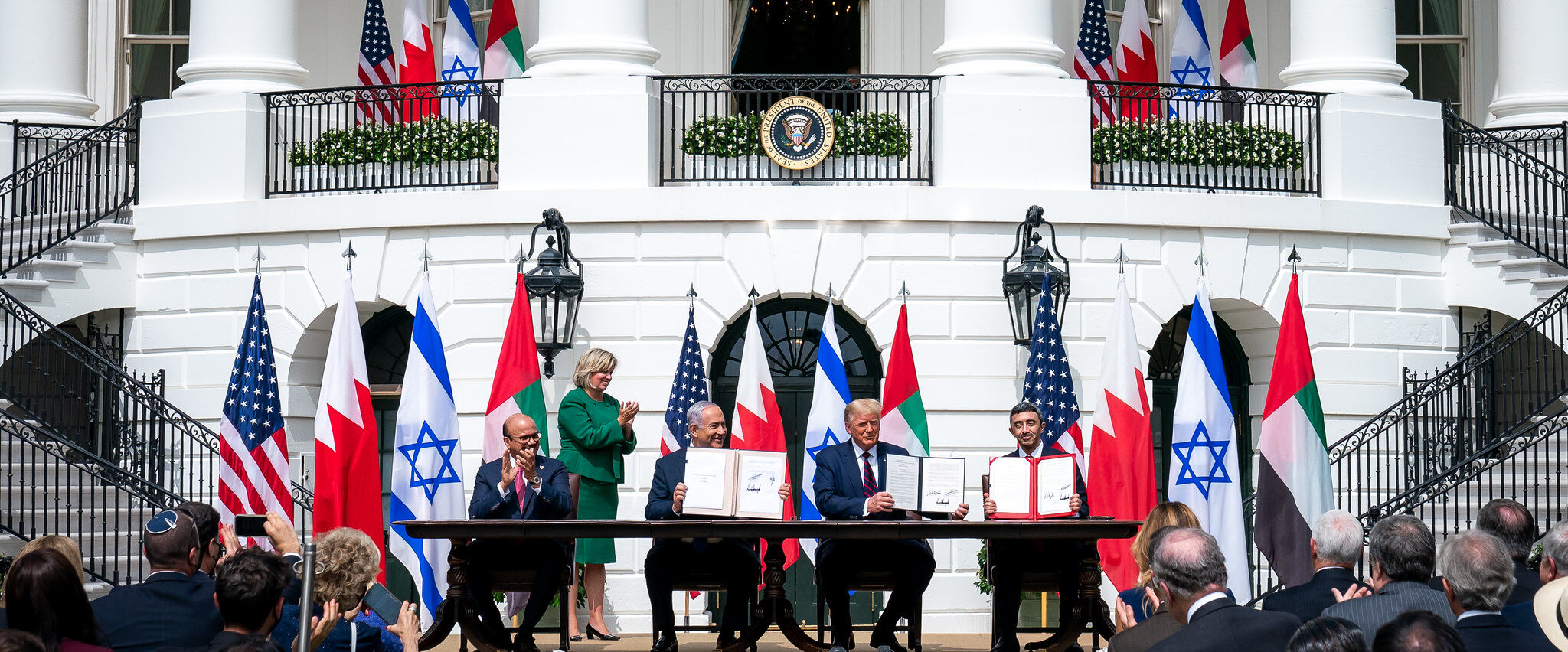 President Trump and The First Lady Participate in an Abraham Accords Signing Ceremony