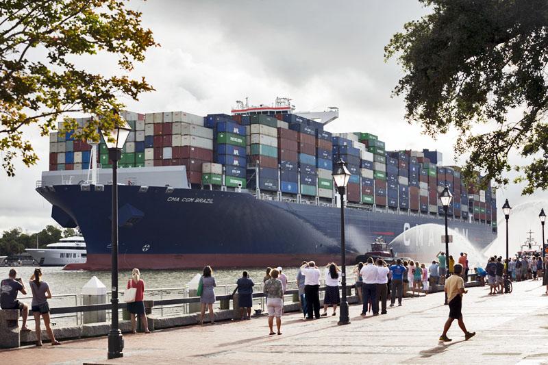 CMA CGM Brazil Port Of Savannah