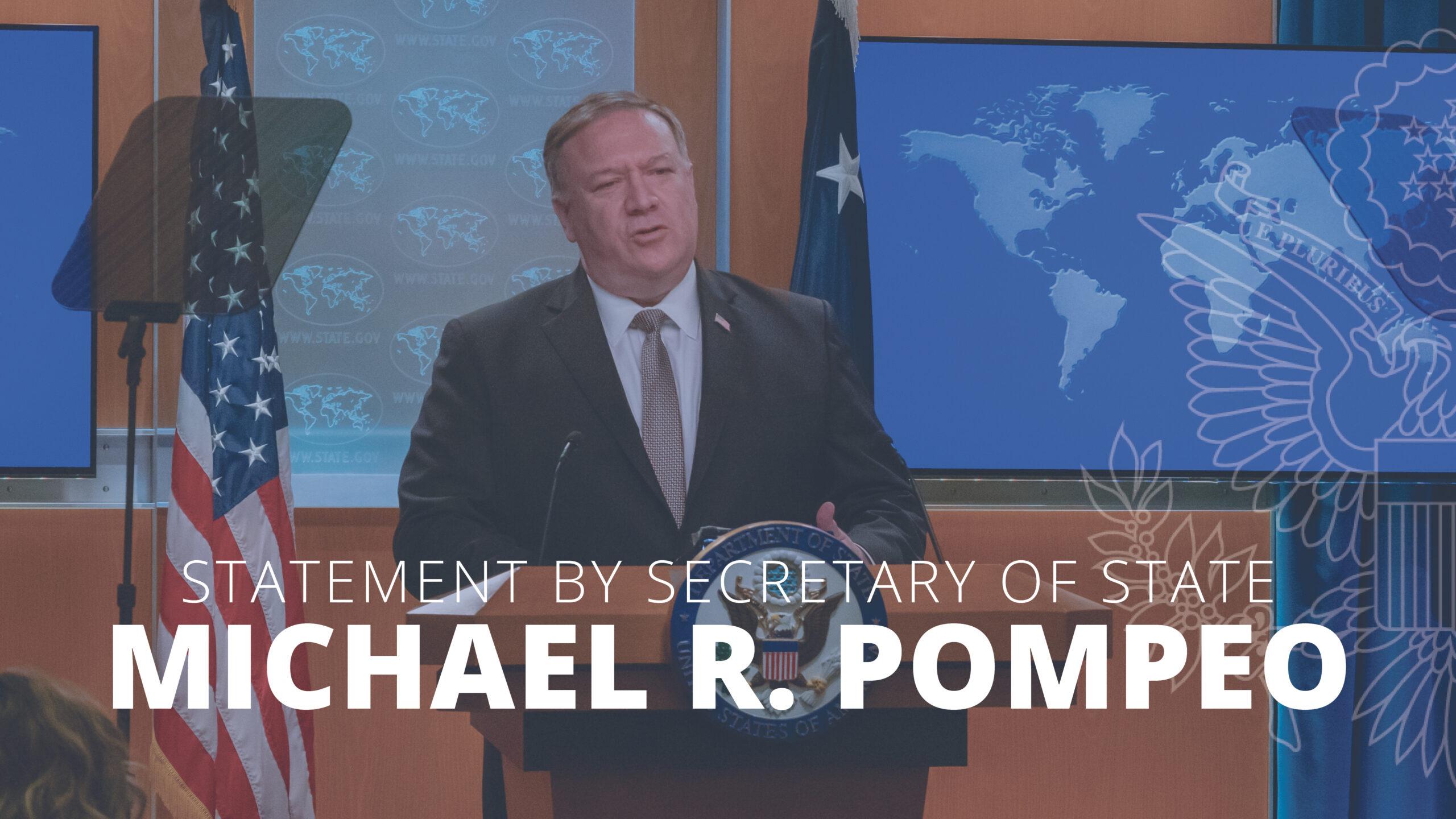 Michael R. Pompeo