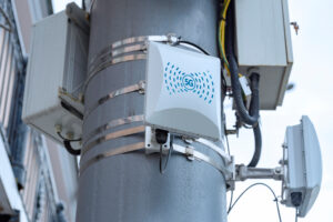 5G cellular repeaters on the pole [shutterstock]